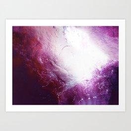 The Ocean of a Galaxy Art Print