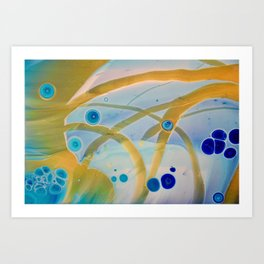 Streamer II Art Print