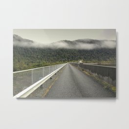 MacIntosh Dam Wall Metal Print