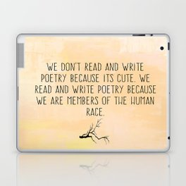 Read and Write Poetry Dead Poets Society Laptop & iPad Skin