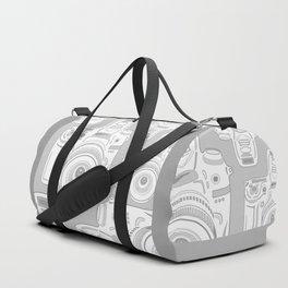 Grey Cameras Duffle Bag