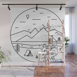 Pacific Northwest 2 Wall Mural