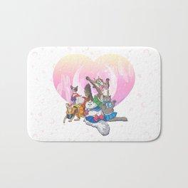 Sailor Kitties Bath Mat