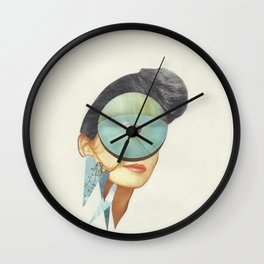 Eye Spy Wall Clock