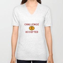Challenge Accepted Unisex V-Neck