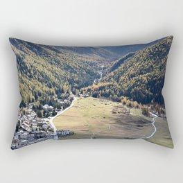 Beautiful autumn landscape in mountain Rectangular Pillow