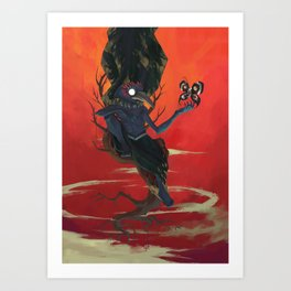 The Dreamteller of Deathdreams Art Print