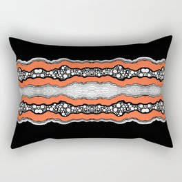 Abstraction One Rectangular Pillow