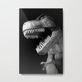 Tyrannosaurus Rex dinosaur Metal Print