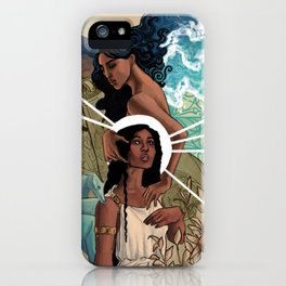 Helen and Aphrodite iPhone Case