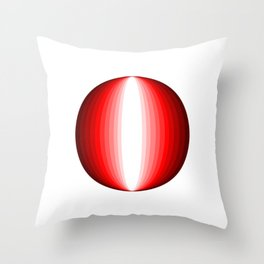 Extrange planet in the galaxy Throw Pillow