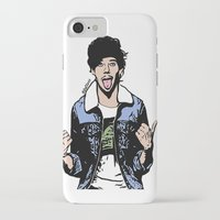 louis tomlinson iPhone & iPod Cases featuring Louis Tomlinson by 90's Class