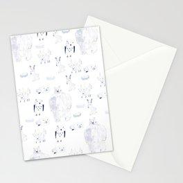 North Pole Animals Stationery Cards