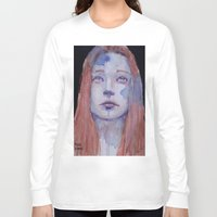 redhead Long Sleeve T-shirts featuring Redhead by SirScm