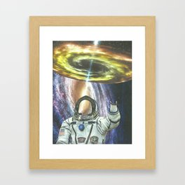 Invisible Space Framed Art Print