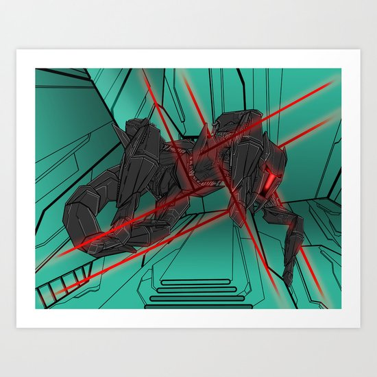ULTRACRASH 2 Art Print