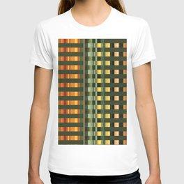 Pattern rectangle color multi I T-shirt