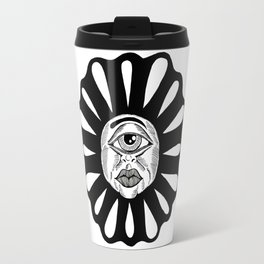 THIRD EYE FLOWER Travel Mug