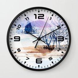 Winter scenery #13 Wall Clock