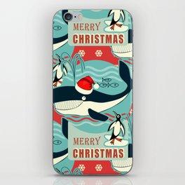 Where is Santa Claus? iPhone Skin
