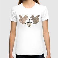 squirrel T-shirts featuring squirrel by Manoou