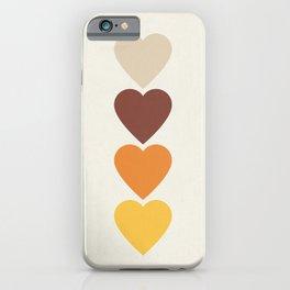 Hearts II iPhone Case