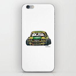 Crazy Car Art 0150 iPhone Skin