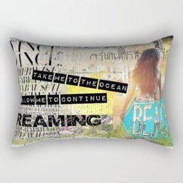 Continue Dreaming Rectangular Pillow