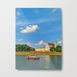 Vistula River Metal Print
