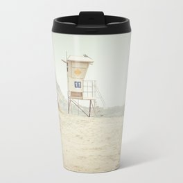 Lifeguard Tower in Laguna Beach California Travel Mug