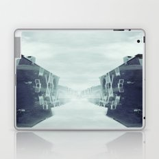 city in the sky Laptop & iPad Skin
