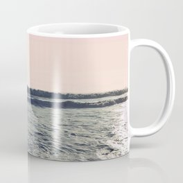When The Waves Kiss The Shore Coffee Mug