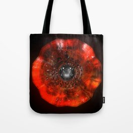 The Eye Of Cyma: Fire And Ice - Frame 40 Tote Bag