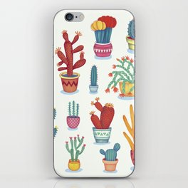 Cactus Poster iPhone Skin