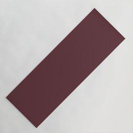 Tawny Port   Pantone Fashion Color Fall : Winter 2017   Solid Color Yoga Mat