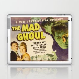 The Mad Ghoul, vintage horror movie poster Laptop & iPad Skin