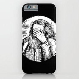 Facepalm Marx iPhone Case