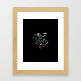 Berserker Rage Framed Art Print