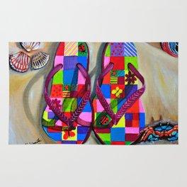 Beach Sandals Rug