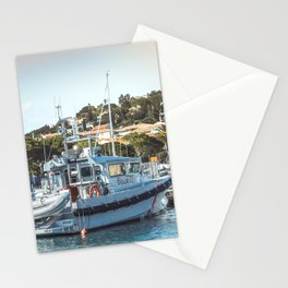 Nautical Harbor Art Print | Europe Summer Travel Photography | Nature Ocean Sea Wanderlust Seascape Stationery Cards