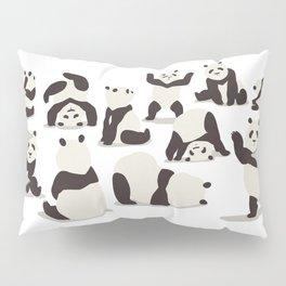 Pandas Party Pillow Sham
