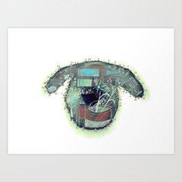 left eye Art Print