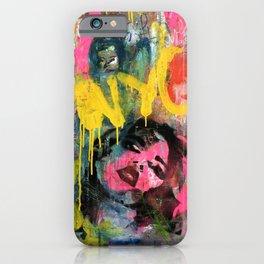 NYC GRAFFITI WALL II iPhone Case
