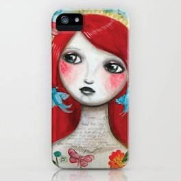 Alice's on Stage by CJ Metzger iPhone Case