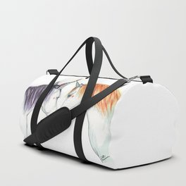 Unicorns in love Duffle Bag