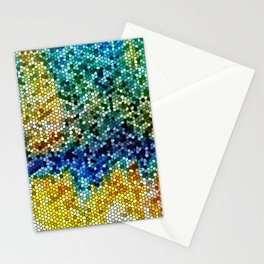 Design 34 Mosaic look Stationery Cards