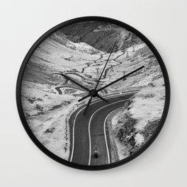 Transfagarasan #7 Wall Clock
