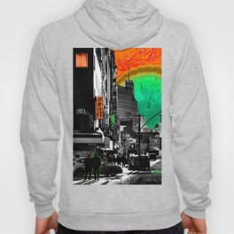 SynchroniCity - Meaningful Psychedelic Collage of NYC Hoody