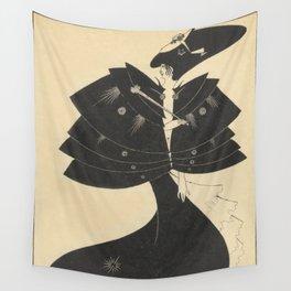 AUBREY BEARDSLEY Salome Oscar Wilde The Black Cape Wall Tapestry