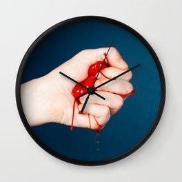 Cherry Pop Wall Clock